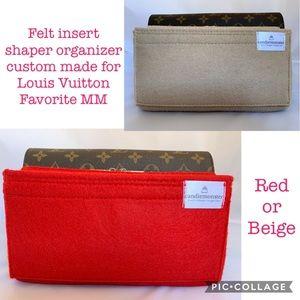 Handbags - 🆕 Felt insert organizer shaper FOR LV Favorite MM